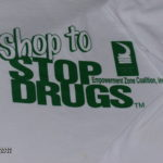 Shop to Stop Drugs T-shirt